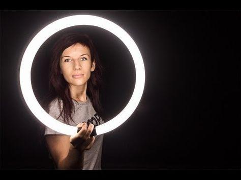 iluminación anillo led