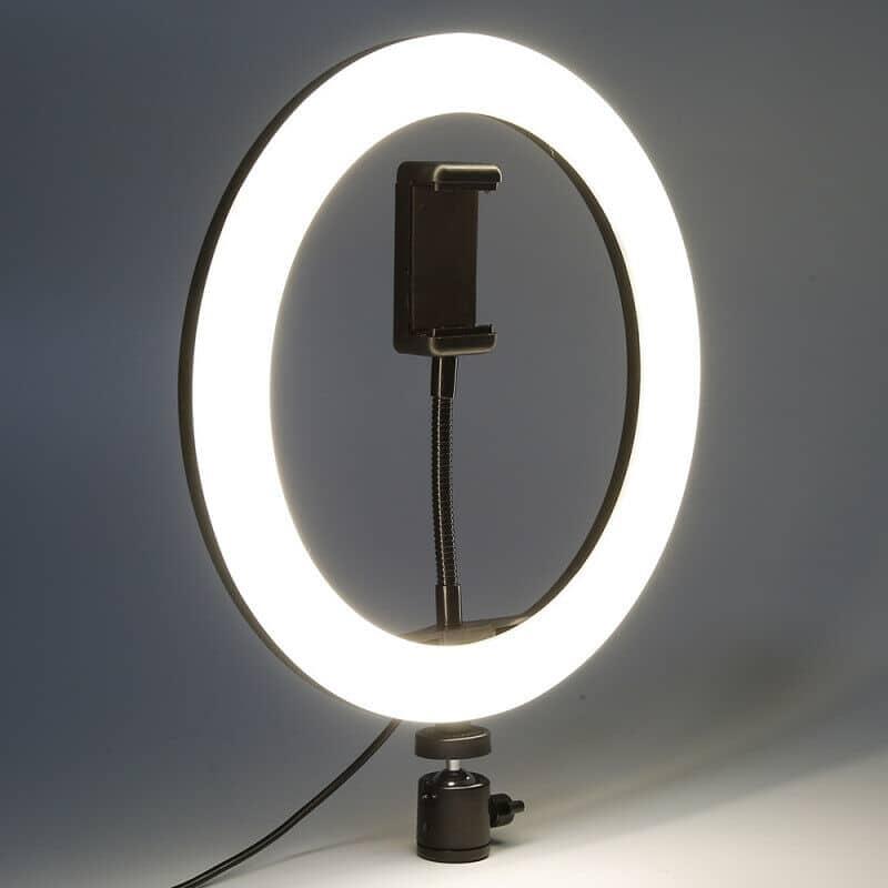 anillo de luz para móvil