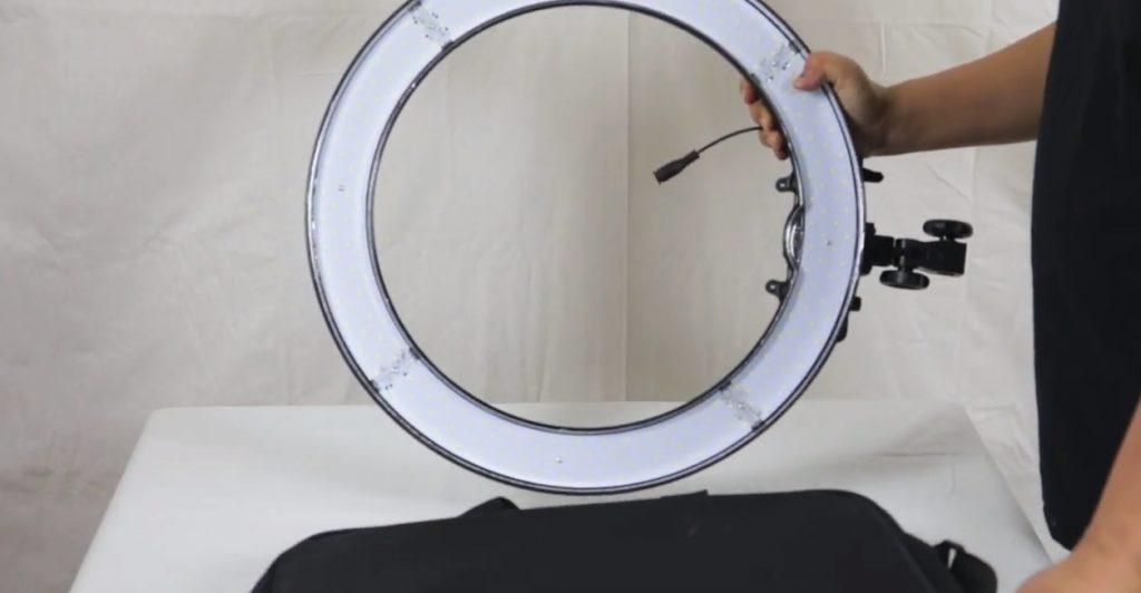 anillo de luz led unboxing - Aros de Luz